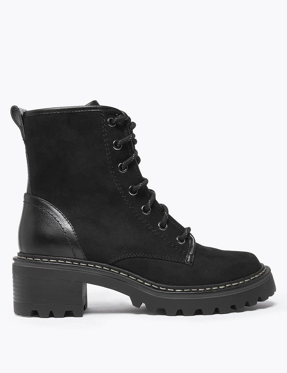 Высокие ботинки на шнуровке Insolia Flex®