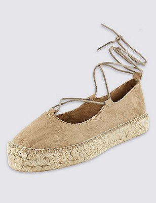 Ghillie Espadrilles with Insolia Flex®, SAND, catlanding