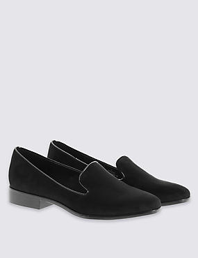 Albert Pump Shoes with Insolia Flex®, BLACK, catlanding