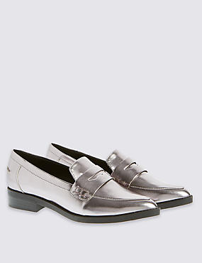 Point Loafer with Insolia Flex®, PEWTER, catlanding