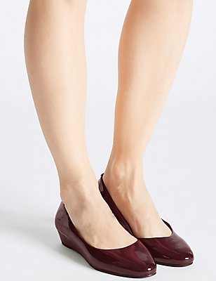 Wedge Heel Smart Court Shoes, MULBERRY, catlanding