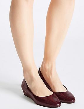 Wedge Heel Smart Court Shoes, MULBERRY, catlanding