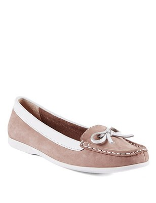 Leather Boat Shoes, , catlanding