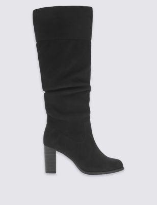 Высокие замшевые сапоги Insolia® M&S Collection T028768A
