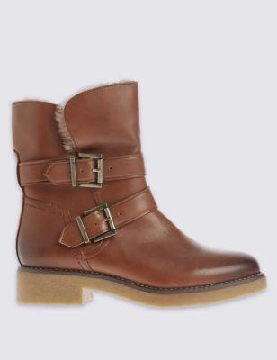 Кожаные ботинки Footglove™ с пряжками