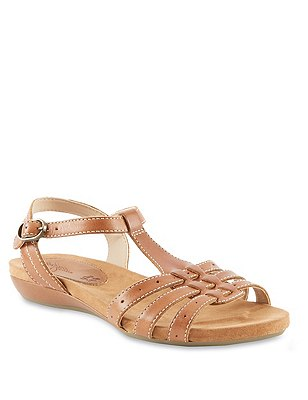 Leather Wide Fit Gladiator Sandals, , catlanding