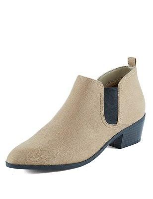 Western Heel Chelsea Boot, SAND, catlanding