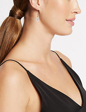 Drop Earrings MADE WITH SWAROVSKI® ELEMENTS, , catlanding