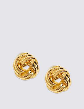 Puces d'oreilles plaquées or en forme de noeud, nouveau modèle, , catlanding