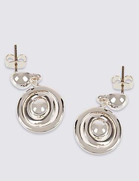 Spinning Bead Drop Earrings, , catlanding
