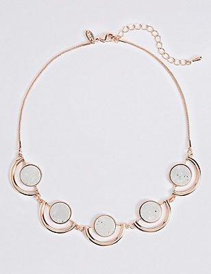 Circle Collar Necklace, , catlanding