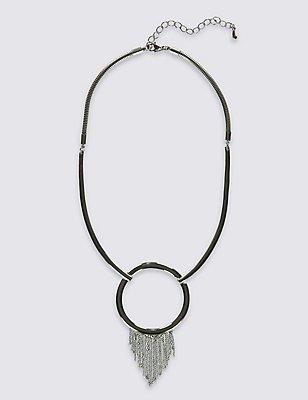 Tassel Torque Necklace, , catlanding
