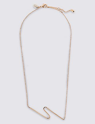 Fine Wave Necklace, , catlanding