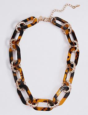 Halskette aus Schildpattgliedern, , catlanding