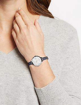 Glitter Strap Watch, , catlanding