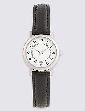 Simple Round Face Mini Watch, , catlanding