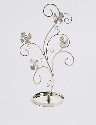 Flutter Butterfly Tree Jewellery Holder, , catlanding