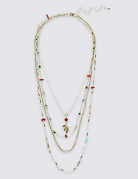 Refined Chip Strands Necklaces, , catlanding
