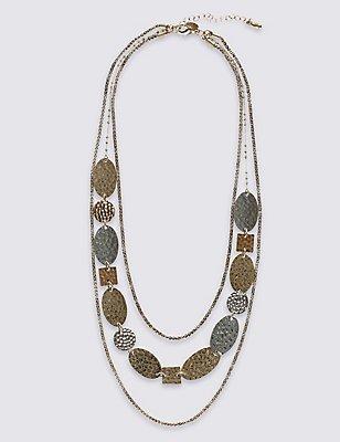 Layered Collar Necklace, , catlanding