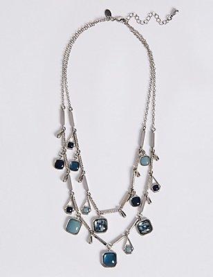 Square Droplet Necklace, , catlanding
