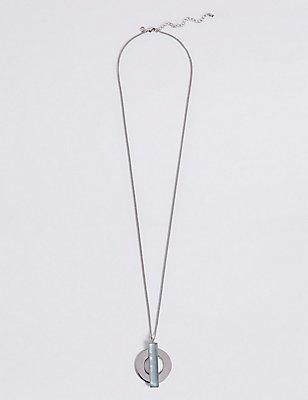 Circle Line Necklace, , catlanding