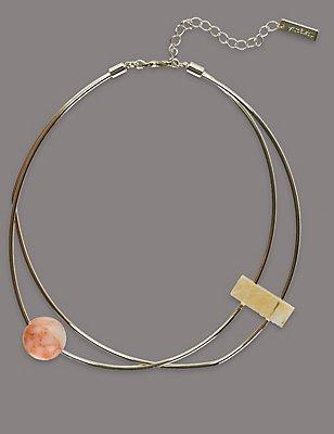 Precious Torque Necklace, , catlanding
