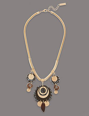 Multi Disc Necklace, , catlanding