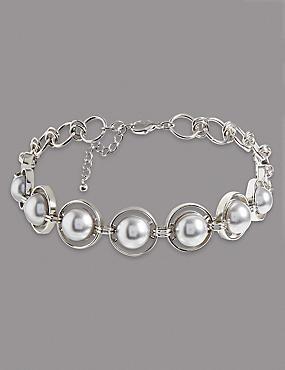 Pearl Choker Necklace, , catlanding