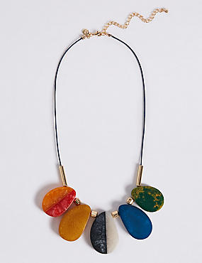 Multi Jelly Collar Necklace, , catlanding