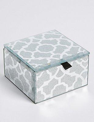 Glitter Small Jewellery Box, , catlanding