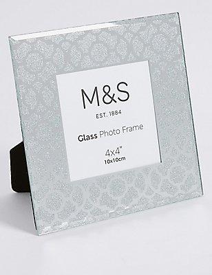 Glamour Glitter Frame 10 x 10cm (4 x 4''), , catlanding