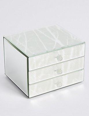 Frost Forest 3 Drawer Jewellery Box, , catlanding