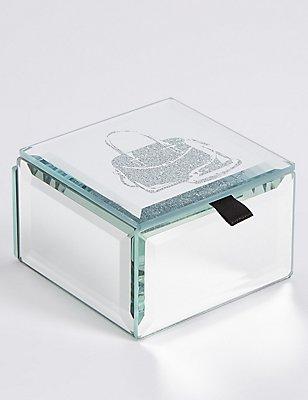 Glitter Bag Jewellery Box, , catlanding