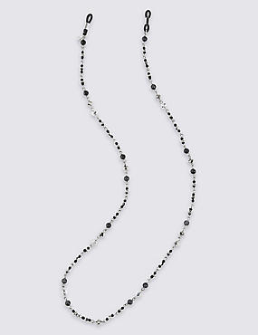 Multi-Bead Glasses Chain, , catlanding