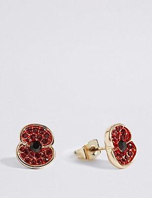 The Poppy Collection® Poppy Earrings, , catlanding