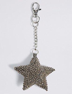 Sparkle Star Keyring, , catlanding