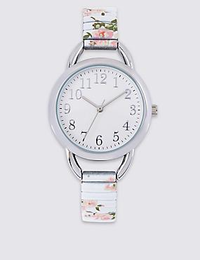 Floral Expander Watch, , catlanding