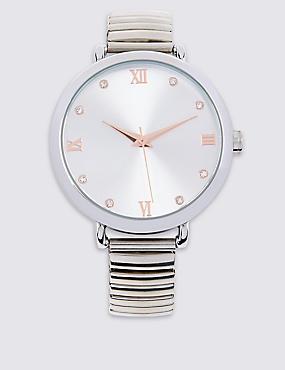 Round Face Modern Watch, , catlanding