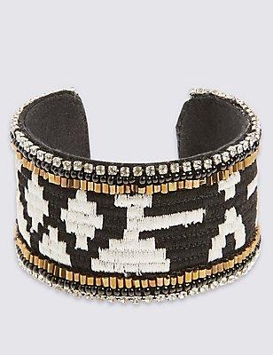 Aztec Cuff Bracelet, , catlanding