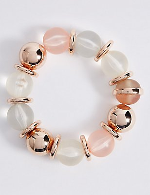 Assorted Bead Bracelet, , catlanding