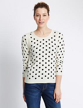 Soft Touch Spotted Jumper