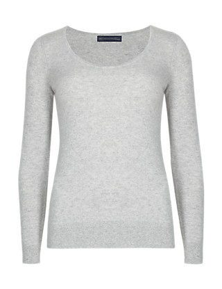 Pure Cashmere Scoop Neck Jumper Clothing