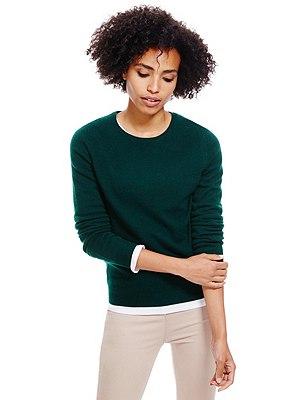 Pure Cashmere Jumper, BRIGHT GREEN, catlanding
