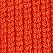 Ribbed Cable Knit Cardigan, ORANGE, swatch