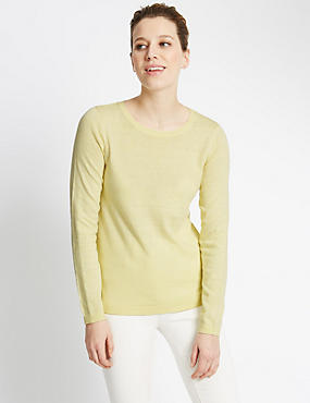 Round Neck Swing Jumper