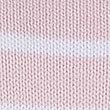 Pure Cotton Stitch Yoke Striped Jumper, PINK MIX, swatch