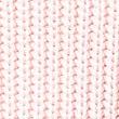 Pure Cotton Pretty Lace Hem V-Neck Jumper, SHERBERT, swatch