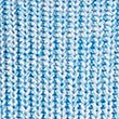 Pure Cotton Ribbed Turn Up Jumper, BLUE MIX, swatch