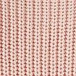 Pure Cotton Ribbed Turn Up Jumper, BLUSH PINK, swatch