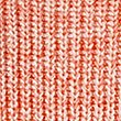 Pure Cotton Ribbed Turn Up Jumper, ORANGE MIX, swatch